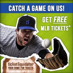 free baseball tickets Major League Baseball